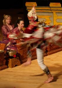 Baris dance, I Putu Tangkas Hiranmayena