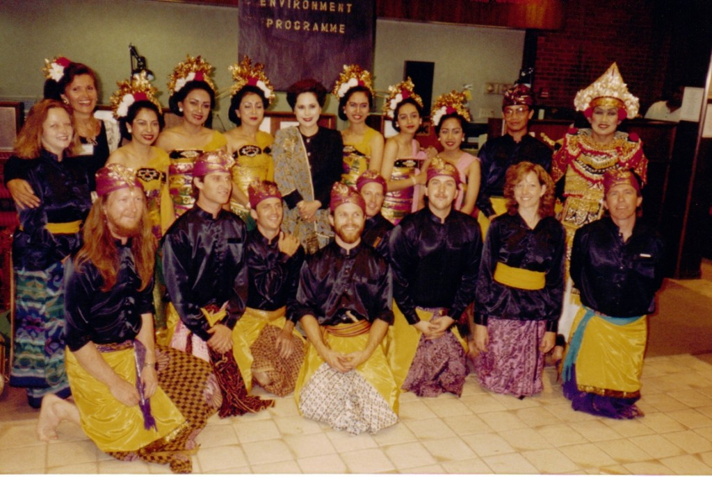 Gamelan Tunas Mekar in Aspen, Colorado, 1992