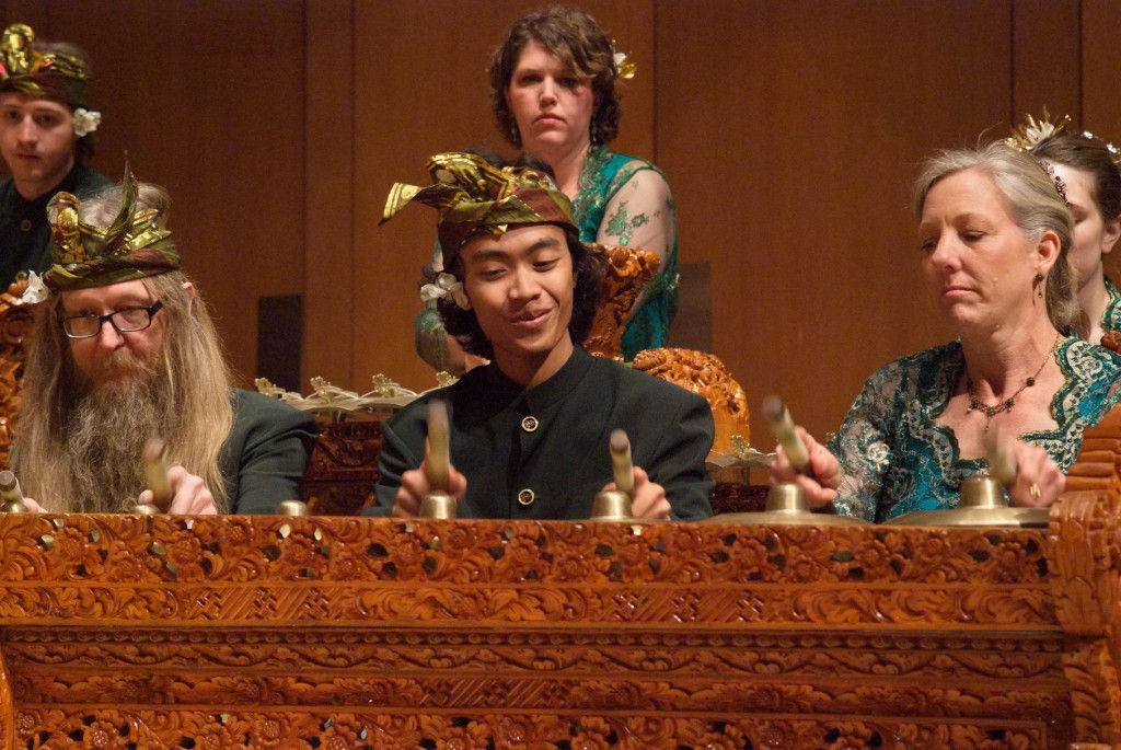 Gamelan Tunas Mekar performs at the King Center in Denver, May 2012