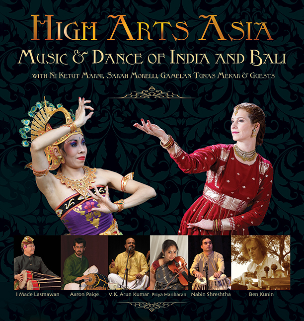 high arts asia music & dance of india and bali